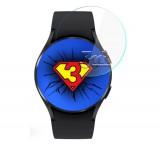 Hybridní sklo 3mk Watch pro Samsung Galaxy Watch4 44mm (3ks)