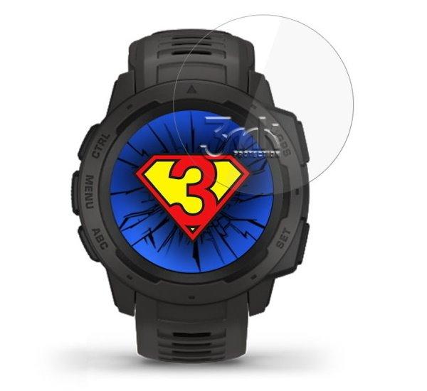 Hybridní sklo 3mk Watch pro Garmin Instinct (3ks)