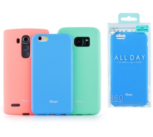 Ochranný kryt Roar Colorful Jelly pro Samsung Galaxy A22, mátová