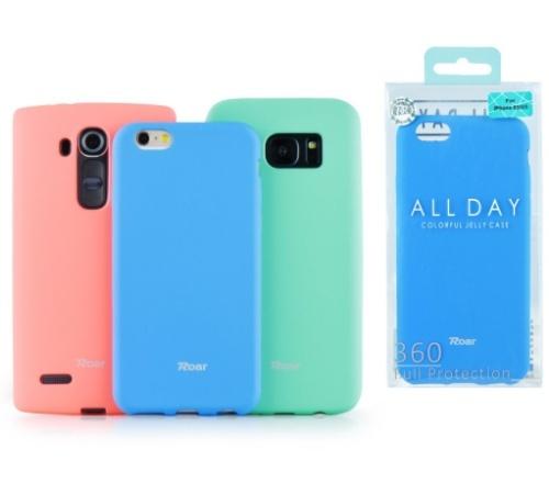 Ochranný kryt Roar Colorful Jelly pro Samsung Galaxy A22, černá