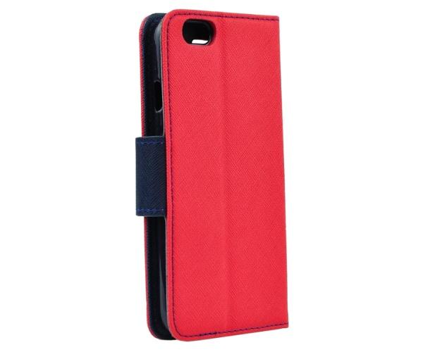 Flipové pouzdro Fancy pro Samsung Galaxy A22, červená-modrá