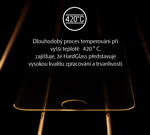 Tvrzené sklo 3mk HardGlass pro Realme 7 5G
