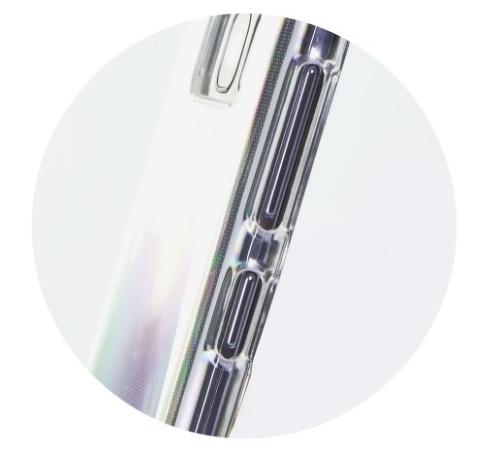 Ochranný kryt Roar pro Apple iPhone 13 mini, transparentní