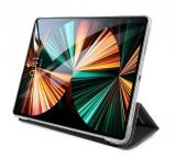 Pouzdro na tablet Karl Lagerfeld Choupette Head Saffiano KLFC12OCHG pro Apple iPad Pro 12.9, stříbrná