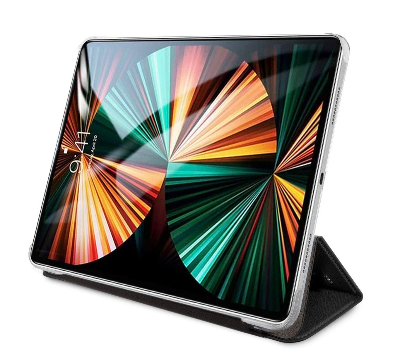 Pouzdro na tablet Karl Lagerfeld Choupette Head Saffiano KLFC11OCHK pro Apple iPad Pro 11, černá