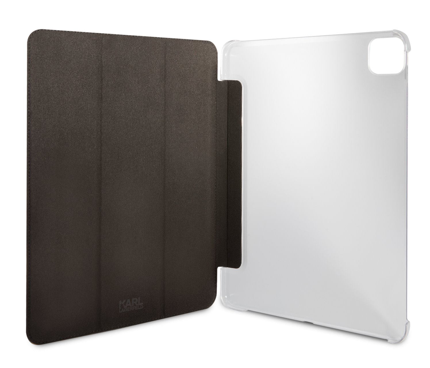 Pouzdro na tablet Karl Lagerfeld Metal Saffiano KLFC12OKMK pro Apple iPad Pro 12.9, černá