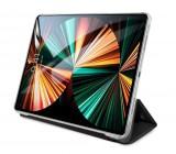 Pouzdro na tablet Karl Lagerfeld and Choupette Head Saffiano KLFC11OKCK pro Apple iPad Pro 11, černá