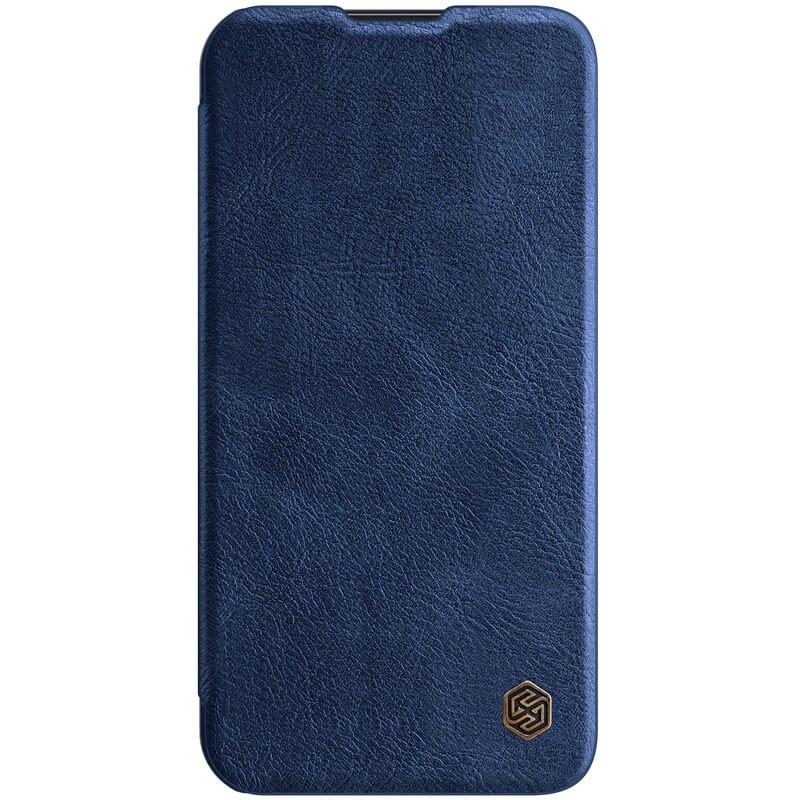 Nillkin Qin Book PRO Pouzdro pro iPhone 13 Blue