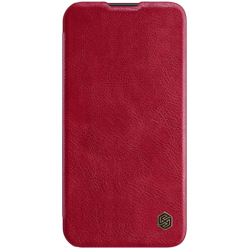 Nillkin Qin Book PRO Pouzdro pro iPhone 13 Pro Red