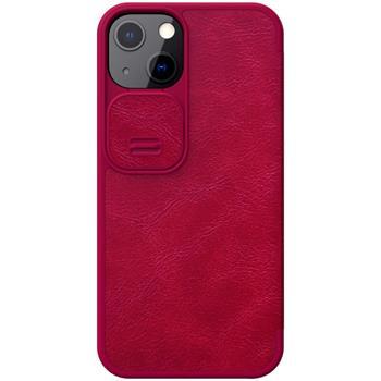 Flipové pouzdro Nillkin Qin Book PRO pro Apple iPhone 13 Pro, červená
