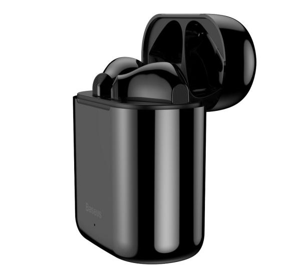 Sluchátka Bluethooth BASEUS Encok True WM09, TWS, černá