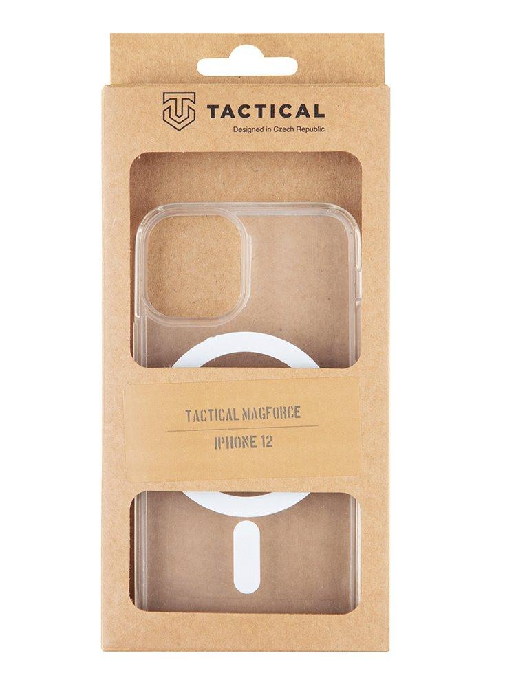 Ocranný kryt Tactical MagForce pro Apple iPhone 12 Mini, transparentní
