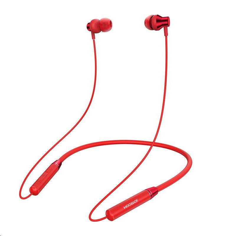 Bezdrátová Sluchátka Joyroom JR-D7 Neckband, červená