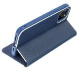 Forcell Luna Carbon flipové pouzdro pro Xiaomi Redmi 9A / Redmi 9AT, modrá