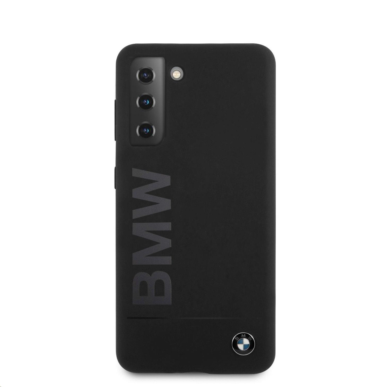 Ochranný kryt BMW Big Logo BMHCS21MSLBLBK pro Samsung Galaxy S21+, černá