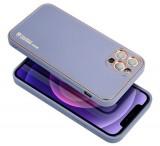 Ochranný kryt Forcell LEATHER pro Samsung Galaxy A03s, modrá