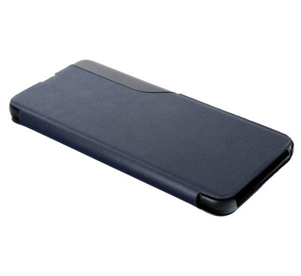 Flipové pouzdro SMART VIEW pro Samsung Galaxy A03s, tmavě modrá