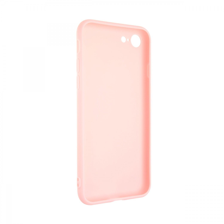 Zadní pogumovaný kryt FIXED Story pro Samsung Galaxy S21 FE, růžová