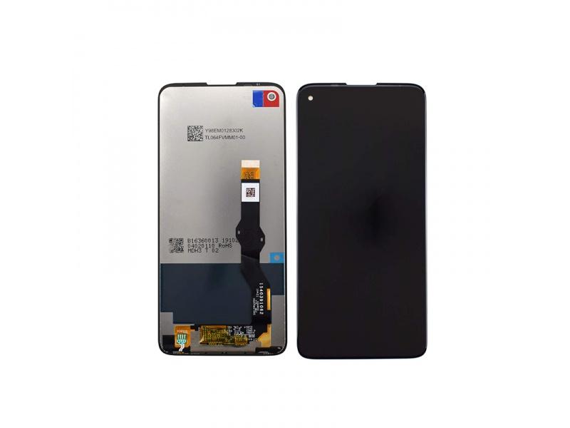 LCD + dotyková deska pro Motorola E7 Plus, black ( OEM )