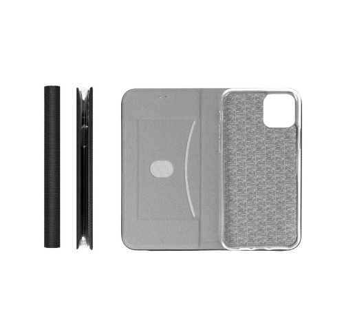 Flipové pouzdro SENSITIVE pro Samsung Galaxy S21, černá