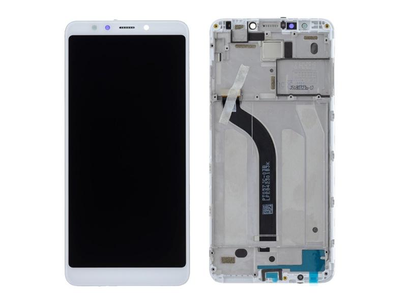 LCD + dotyk + rámeček pro Xiaomi Redmi 5, white ( Service Pack )