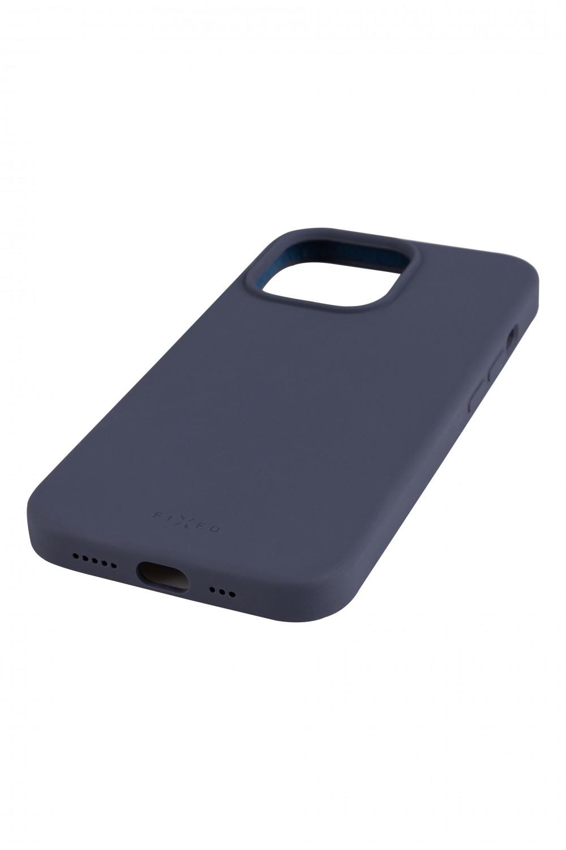 Zadní kryt FIXED MagFlow s podporou Magsafe pro Apple iPhone 13 Pro, modrá