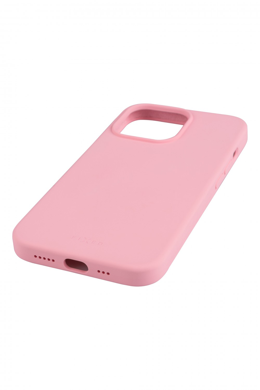 Zadní kryt FIXED MagFlow s podporou Magsafe pro Apple iPhone 13 Pro, růžová