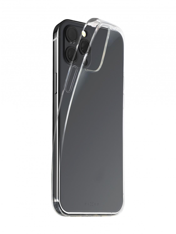 Zadní TPU gelové pouzdro FIXED Slim AntiUV pro Apple iPhone 13 Pro Max, čirá