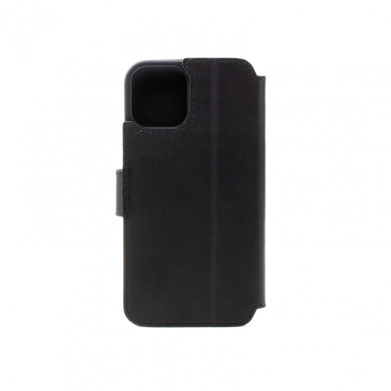 Kožené pouzdro typu kniha FIXED ProFit pro Apple iPhone 13 Pro Max, černá