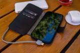 Kožené pouzdro typu kniha FIXED ProFit pro Apple iPhone 13 mini, černá