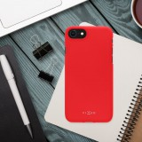 Zadní pogumovaný kryt FIXED Story pro Apple iPhone 13 Pro, červená
