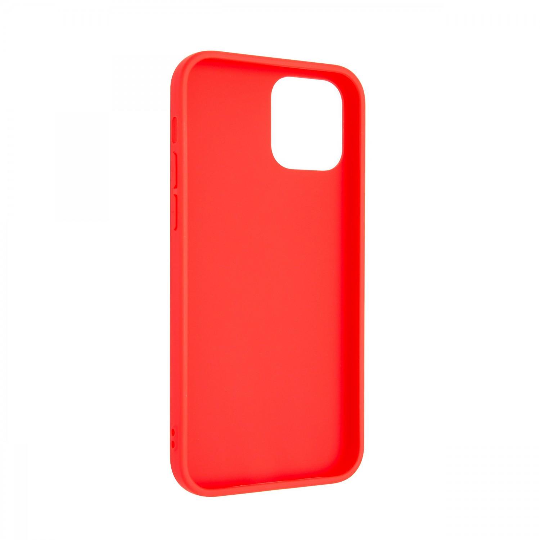 Zadní pogumovaný kryt FIXED Story pro Apple iPhone 13, červená
