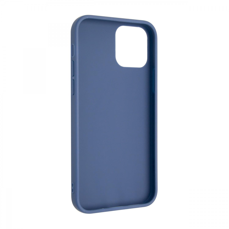 Zadní pogumovaný kryt FIXED Story pro Apple iPhone 13, modrá
