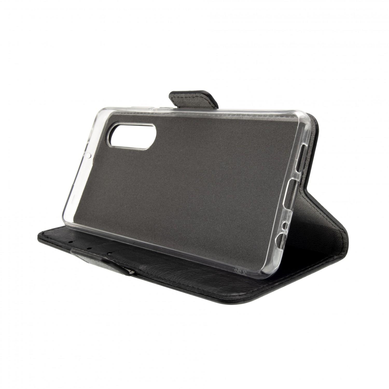 Flipové pouzdro FIXED Opus pro Apple iPhone 13, černá
