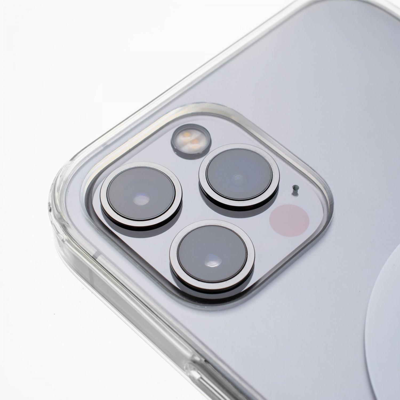 Zadní kryt FIXED MagPure s podporou Magsafe pro Apple iPhone 12/12 Pro, čirá