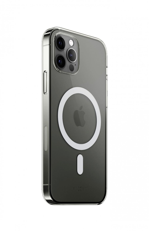 Zadní kryt FIXED MagPure s podporou Magsafe pro Apple iPhone 12 Pro Max, čirá