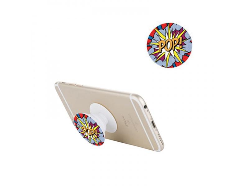 Držák na mobil PopSocket Mobile Phone Holder P0199, bílá