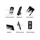 Držák na mobil PopSocket Mobile Phone Holder P052, bílá