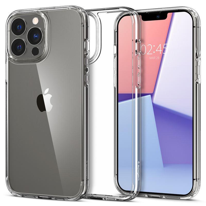 Ochranný kryt Spigen Crystal Hybrid crystal clear pro Apple iPhone 13 Pro, transparentní