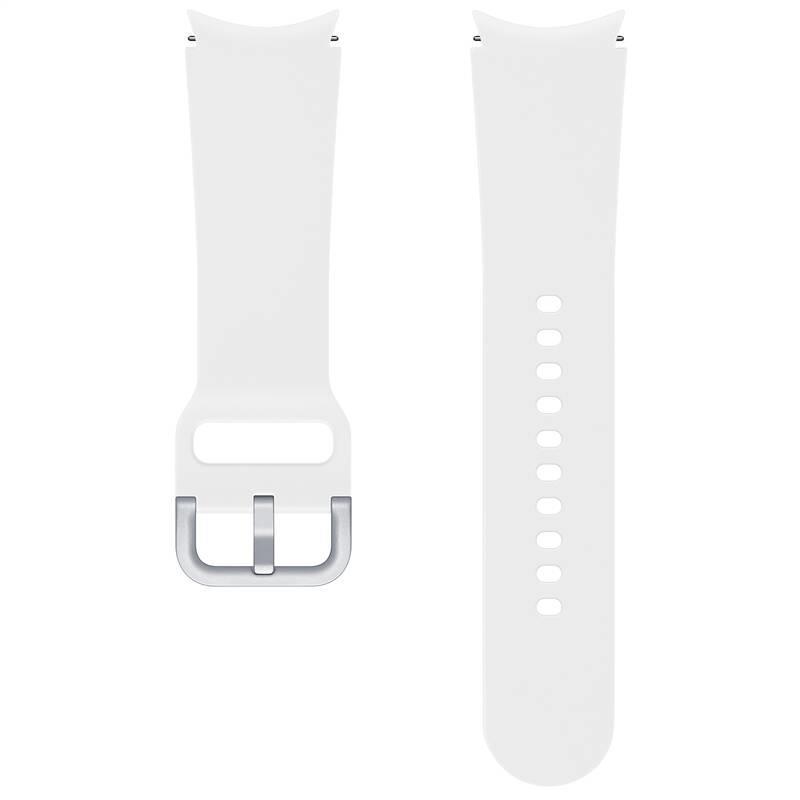 Sportovní řemínek Samsung ET-SFR86SWEGEU, velikost S/M 20mm, bílá