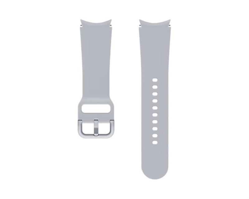 Sportovní řemínek Samsung ET-SFR87LSEGEU, velikost M/L 20mm, stříbrná