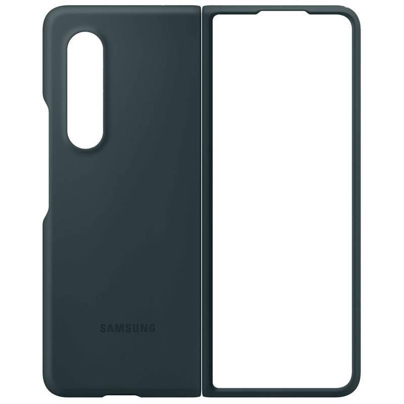 Ochranný kryt Silicone Cover EF-PF926TGEGWW pro Samsung Galaxy Z Fold3, zelená
