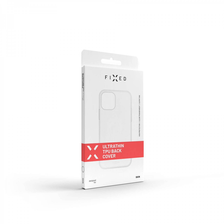 Ultratenké TPU gelové pouzdro FIXED Skin pro Apple iPhone 13 Pro Max, čirá