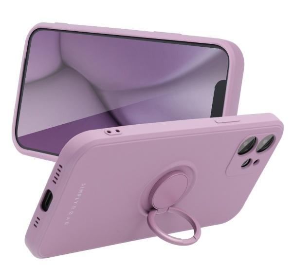 Zadní kryt Roar Amber pro Apple iPhone 13 mini, fialová