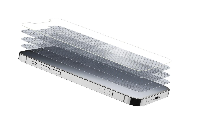 Prémiové ochranné tvrzené sklo Cellularline TETRA FORCE GLASS pro Apple iPhone 13 Pro Max