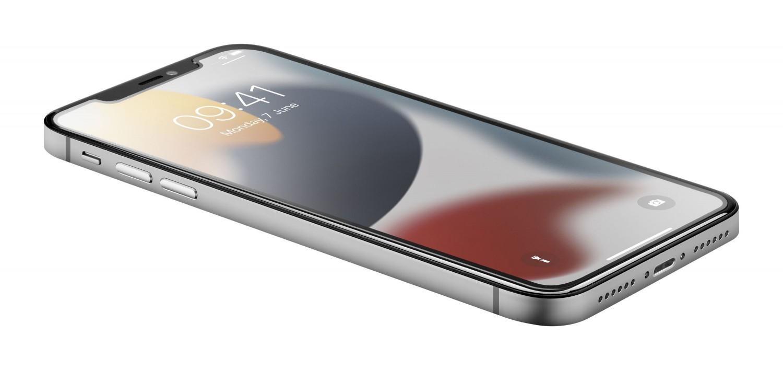 Prémiové ochranné tvrzené sklo Cellularline TETRA FORCE GLASS pro Apple iPhone 13 Mini