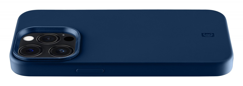 Silikonový kryt Cellularline Sensation pro Apple iPhone 13 Pro Max, modrá