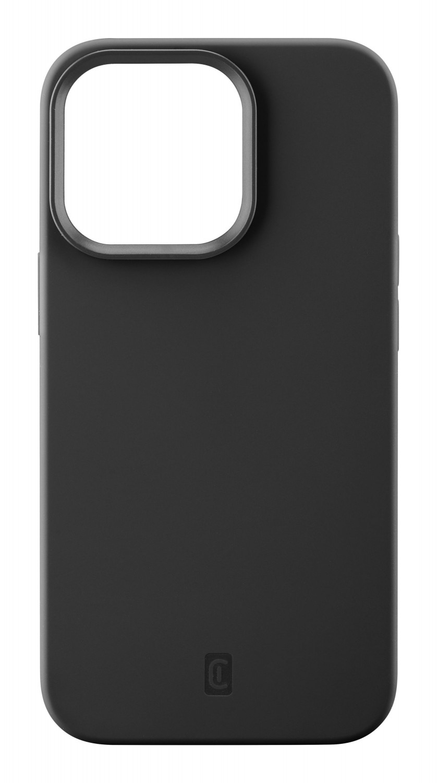 Silikonový kryt Cellularline Sensation pro Apple iPhone 13 Pro Max, černá