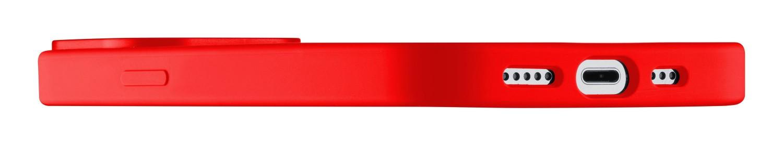 Silikonový kryt Cellularline Sensation pro Apple iPhone 13 Pro, červená