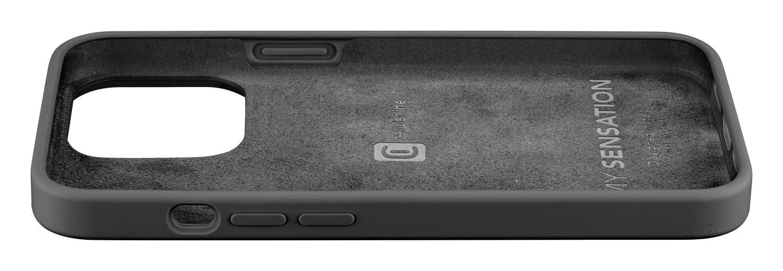 Silikonový kryt Cellularline Sensation pro Apple iPhone 13 Pro, černá